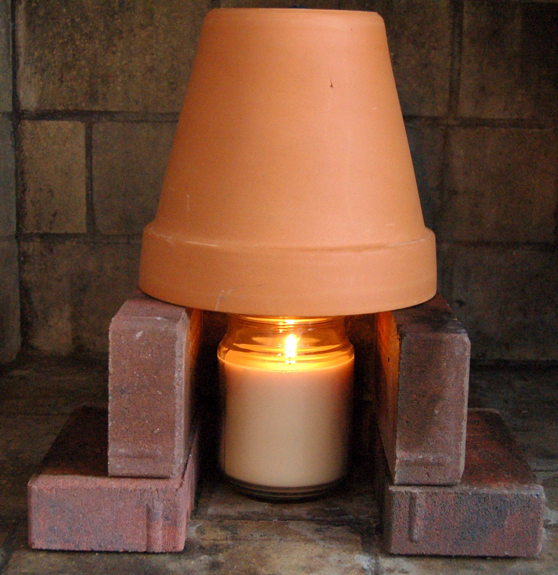 improvised-terra-cotta-pot-heater